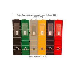 PASTA ARQUIVO CARTONEX 80L...