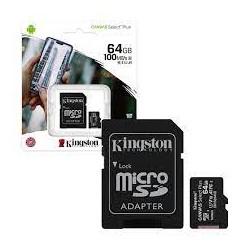 KINGSTON MICRO SDXC 64 GB....