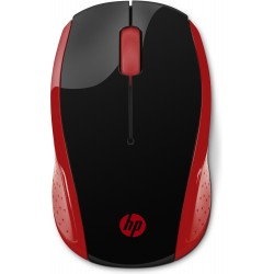 HP 200 RED WIRELESS MOUSE...