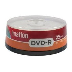 IMATION DVD-R 4.7GB SPINDLE 25