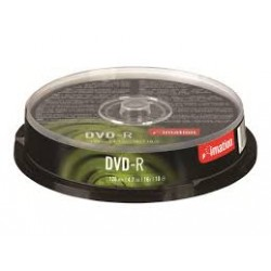 IMATION DVD-R 4.7GB SPINDLE 10