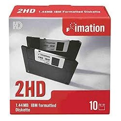 """IMATION DISKETTES 3,5"""" HD..."""