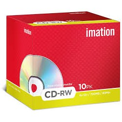 IMATION CD-RW 700MB 80MIN...