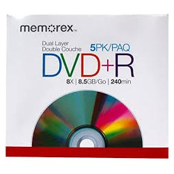 MEMOREX DVD+R 8.5GB -...