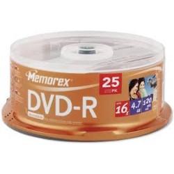 MEMOREX DVD-R 4.7GB 16X...