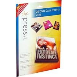 CXA. 20 DVD CASE INSERTS...