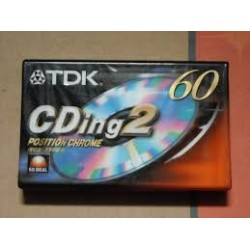 TDK CASSETE AUDIO 60M