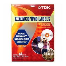TDK ETIQ.CD`S QUALIDADE...