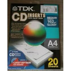 TDK ETIQ.CD`S...