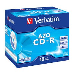 VERBATIM CD-R 700MB  80MIN...